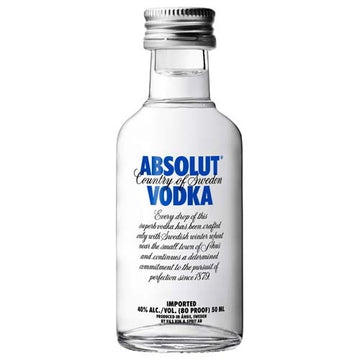 Absolut Vodka 50ml - 12pk
