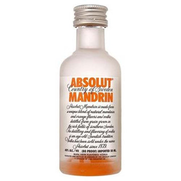 Absolut Vodka Mandarin 50ml - 12pk