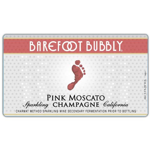 Barefoot Bubbly Pink Moscato Sparkling