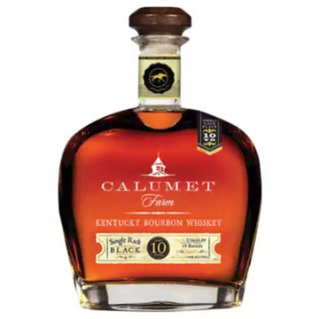 Calumet Farm Single Rack Black 10yr Bourbon