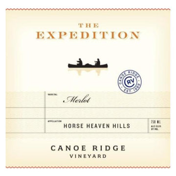 Canoe Ridge The Expedition Merlot 2017