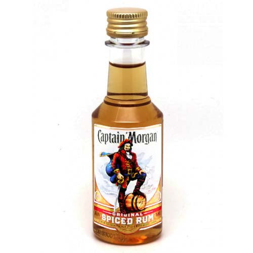 Captain Morgan Spiced Rum 50ml - 10pk