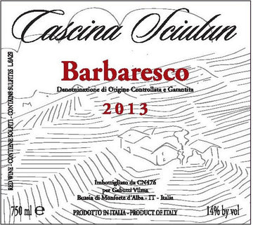 Cascina Sciulun Barbaresco 2013