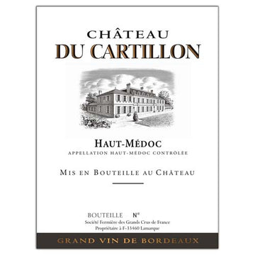Chateau du Cartillon 2016