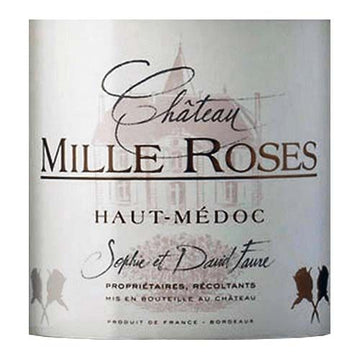 Chateau Mille Roses Haut-Medoc 2014