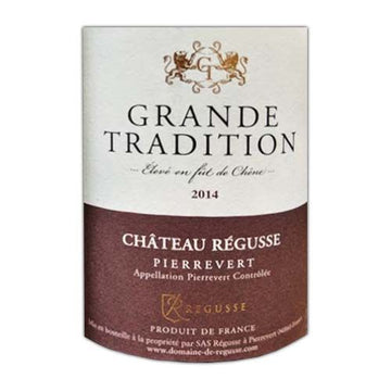 Chateau Regusse Grande Tradition 2014 Red Blend