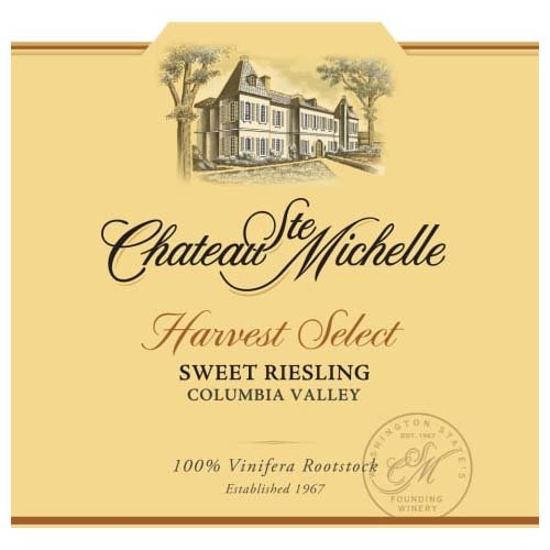 Chateau Ste Michelle Harvest Select Sweet Riesling 2017