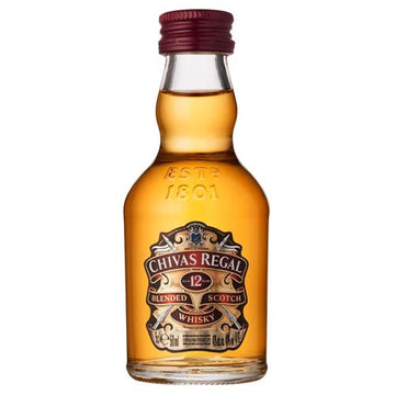 Chivas Regal 12yr Scotch 50ml - 12pk