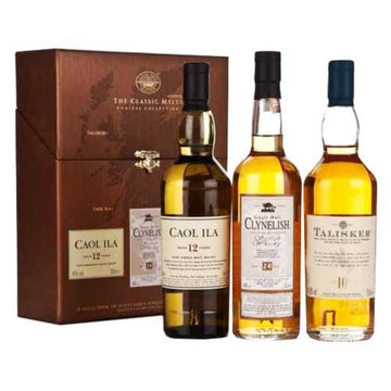 Classic Malts Coastal Collection - Caol Ila/Clynelish/Talisker