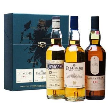 Classic Malts Strong Collection - Lagavulin/Talisker/Cragganmore