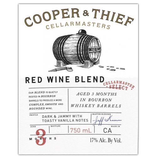 Cooper & Thief Bourbon Barrel Aged Red Blend 2018