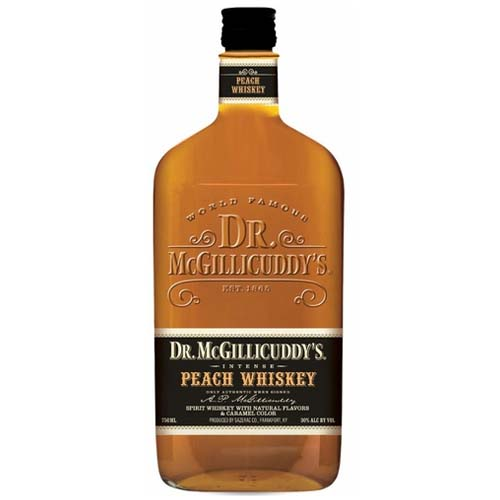 Dr. McGillicuddys Peach Whiskey