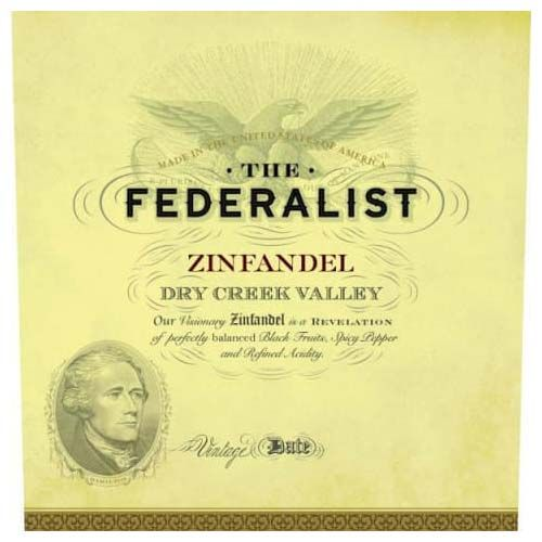 Federalist Dry Creek Valley Zinfandel 2016