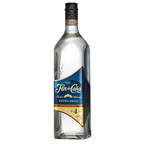 Flor de Cana 4 Year Old Extra Dry White Rum