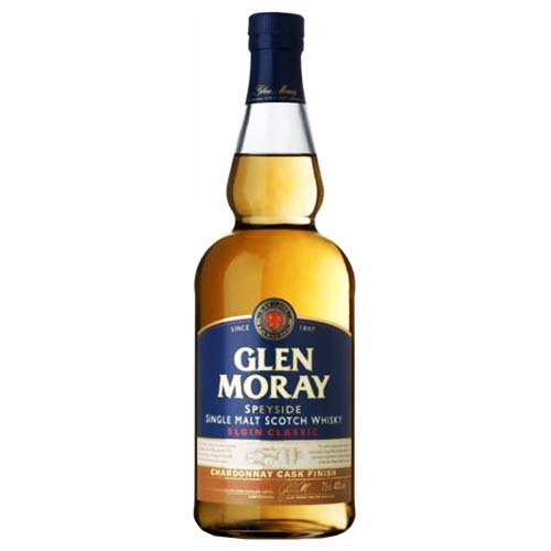 Glen Moray Chardonnay Cask Finish Single Malt Scotch