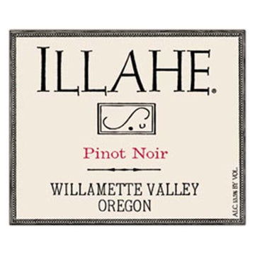 Illahe Pinot Noir Willamette Valley 2019