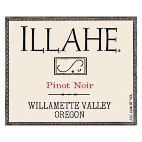 Illahe Estate Pinot Noir Willamette Valley 2018
