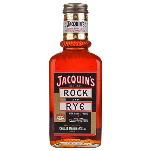 Jacquin's Rock & Rye with Fruit