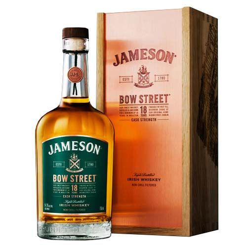 Jameson Bow Street 18yr Cask Strength Irish Whiskey