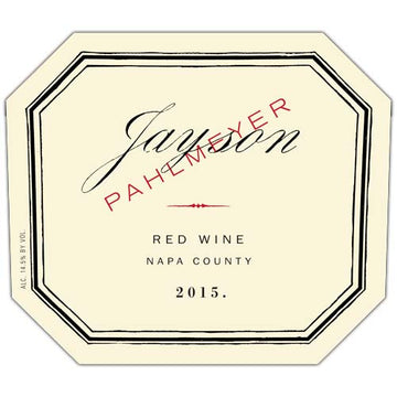 Pahlmeyer Jayson Red 2015