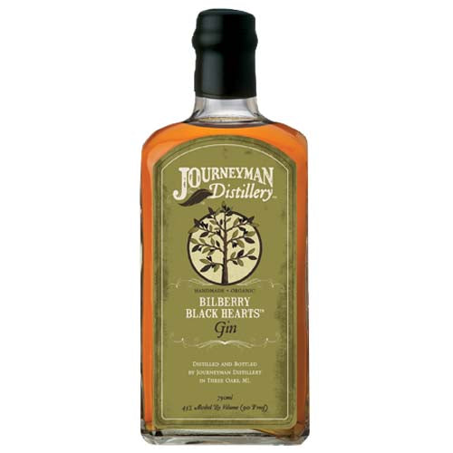 Journeyman Bilberry Black Hearts Gin