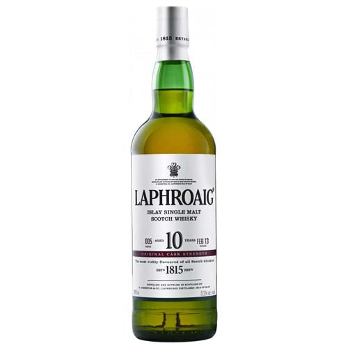 Laphroaig 10yr Cask Strength Single Malt Scotch