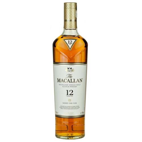 Macallan 12yr Sherry Oak Single Malt Scotch