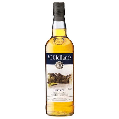 McClellands Speyside Single Malt Scotch