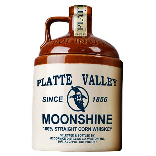 Platte Valley Jug Corn Whiskey