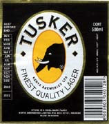 Tusker Beer 12oz Bottle