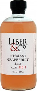 Liber & Co Texas Grapefruit Shrub 8oz
