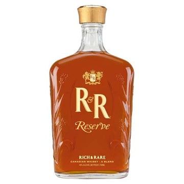 Rich and Rare Reserve Canadian Whisky