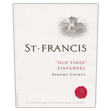 St. Francis Winery Zinfandel Old Vines 2015