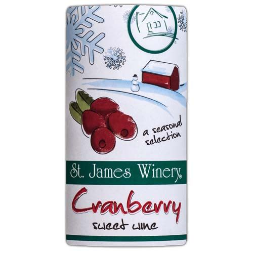 St. James Cranberry Sweet Wine