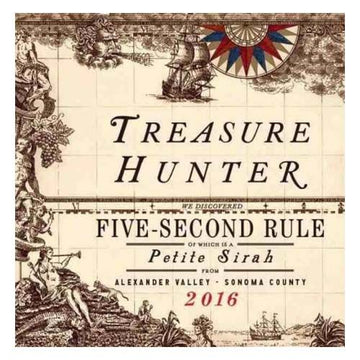 Treasure Hunter Five Second Rule Petite Sirah 2016