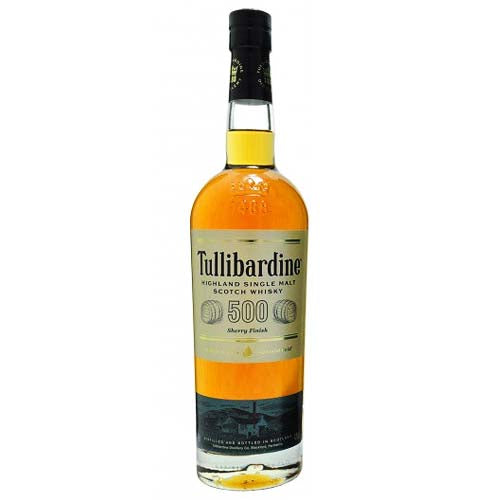Tullibardine 500 Single Malt Scotch Whisky Sherry Finish