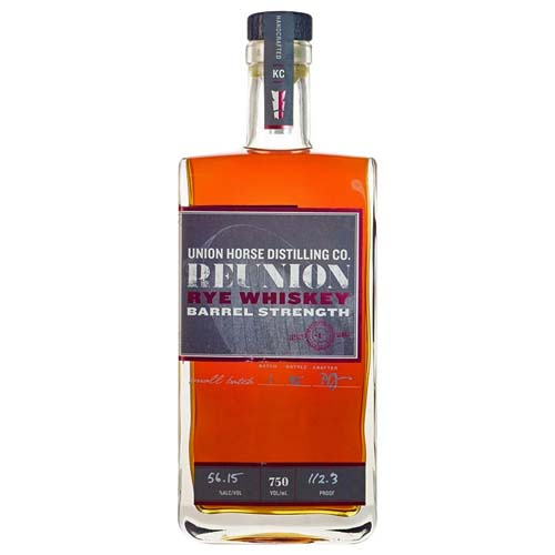 Union Horse Barrel Strength Reunion Rye Whiskey
