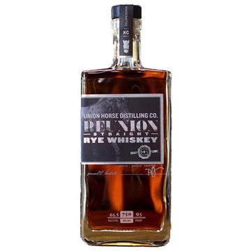 Union Horse Reunion Straight Rye