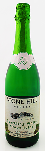 Stone Hill Sparkling Juice ~ No Alcohol