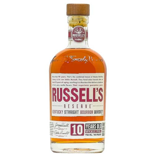Russell's Reserve 10yr 90 Proof Bourbon
