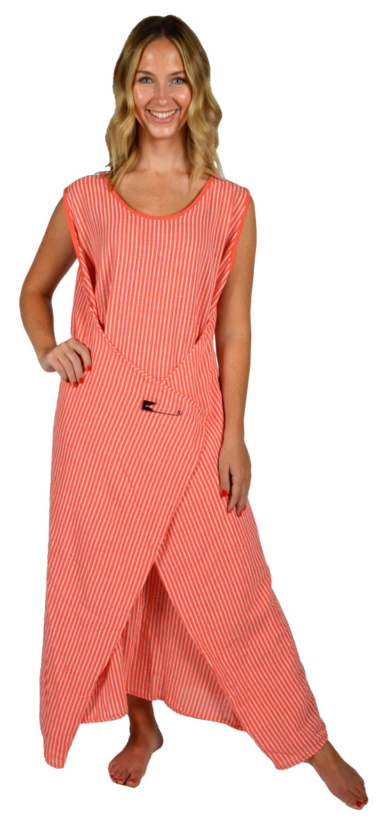 STRIPED POINT DRESS