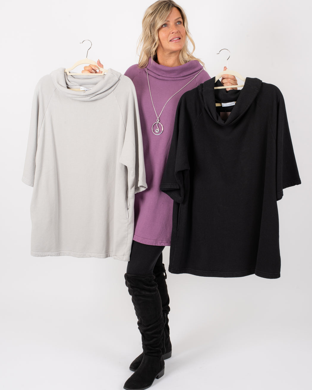 F/T KEELEY TUNIC