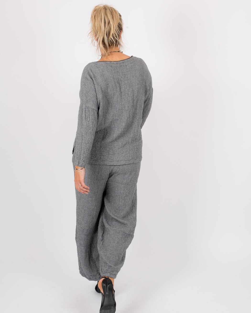 FAUX FLY PANT