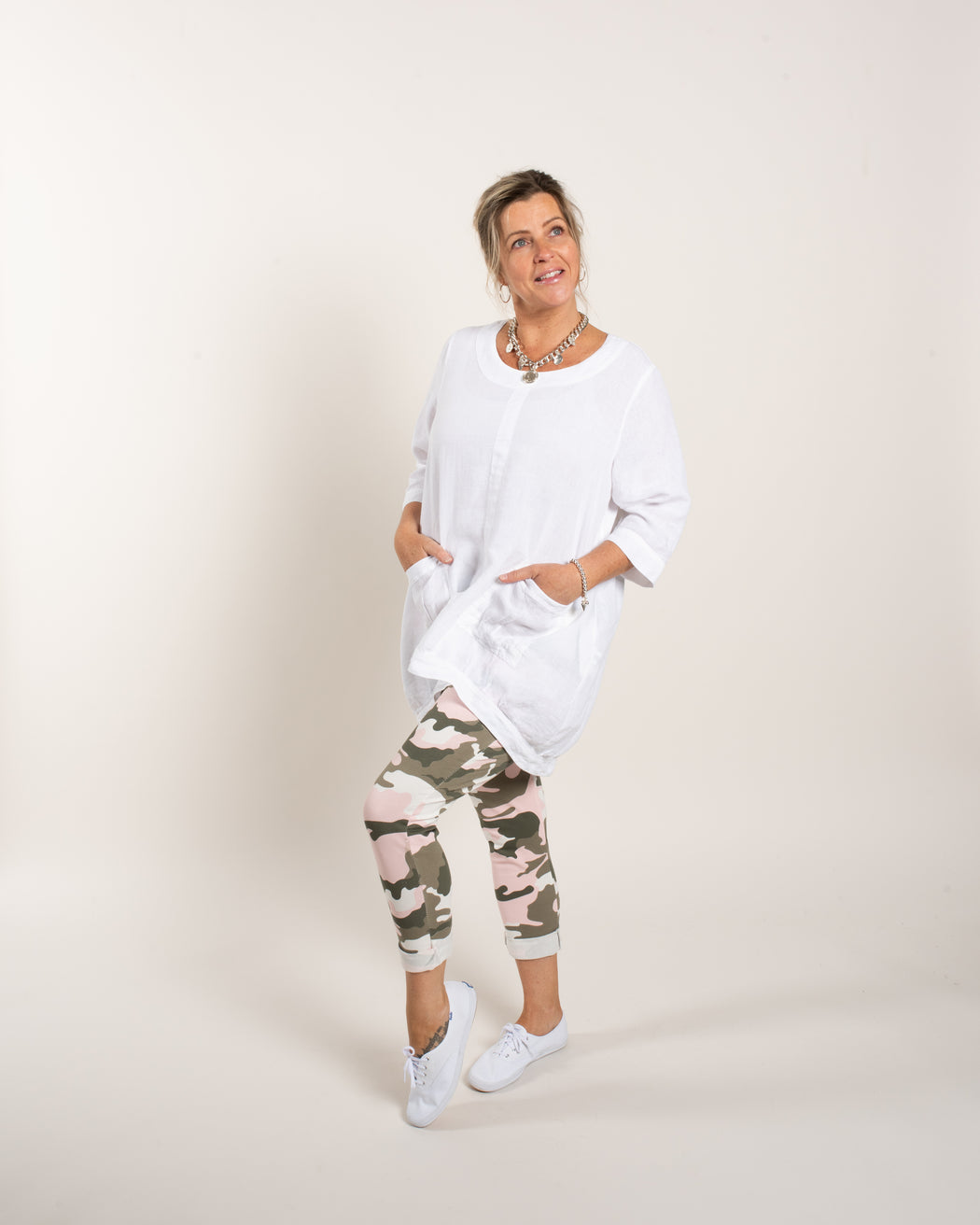 2 PKT BUBBLE TUNIC