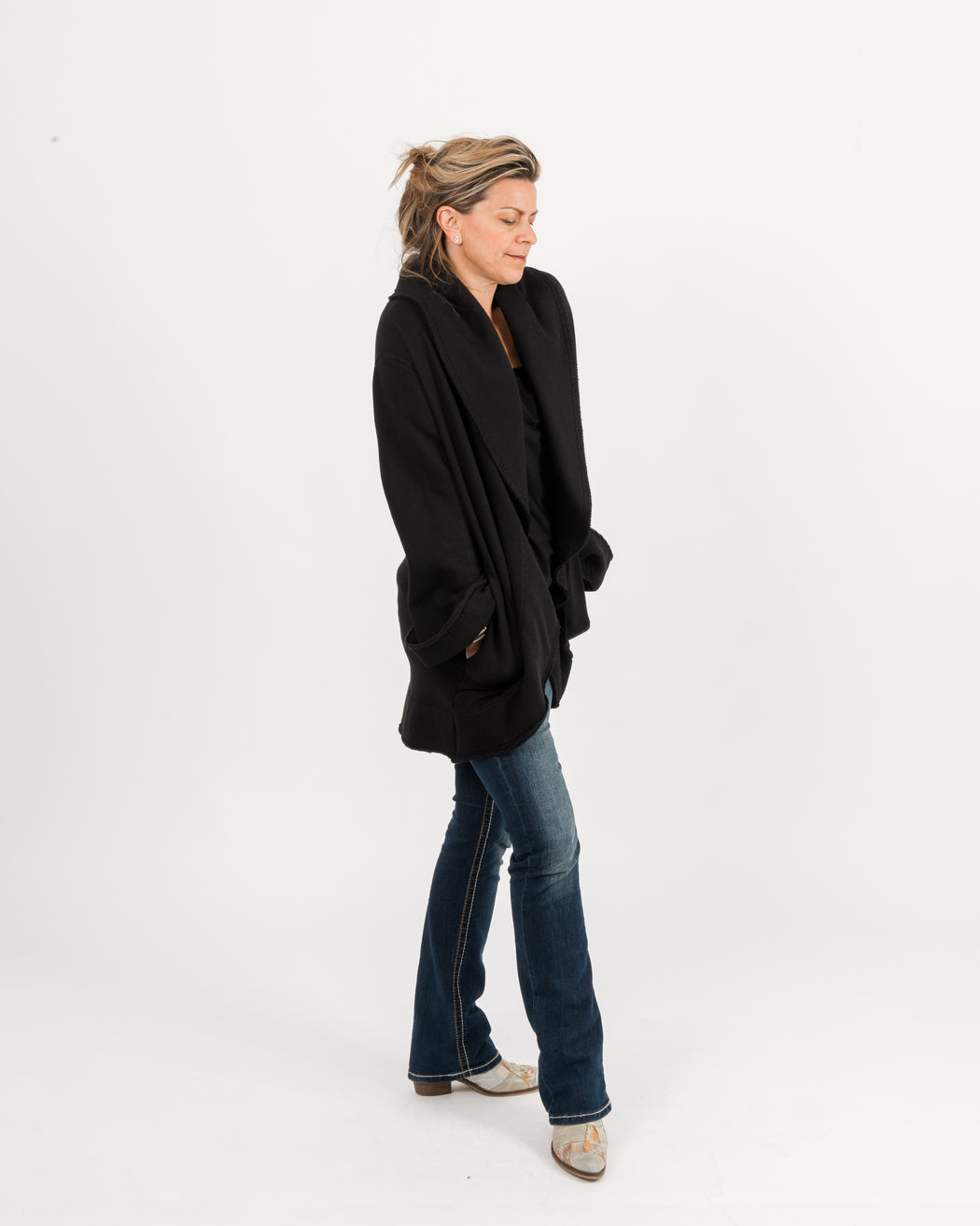 Short Wrap Coat