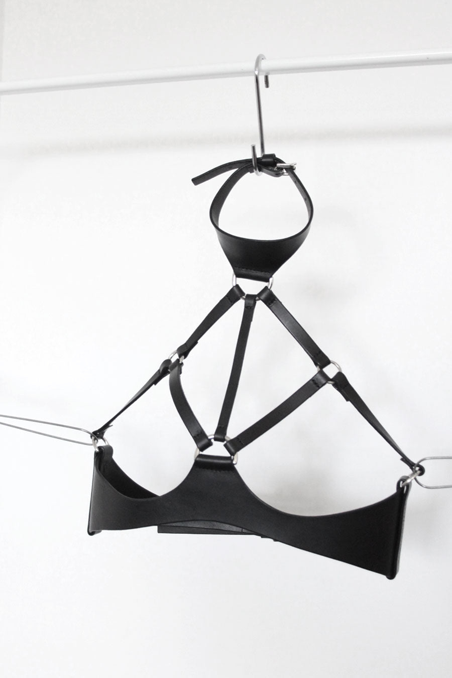 BRALET HARNESS BLACK / SAMPLE SALE