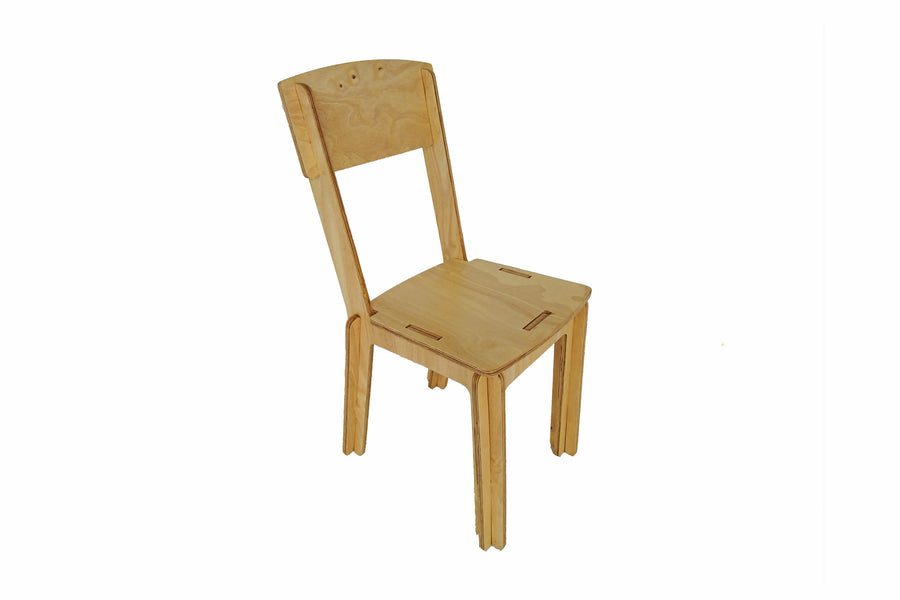 Parkville Homeware Flatpack Chair - Great portable chair that is collapsible and made in Sri Lanka