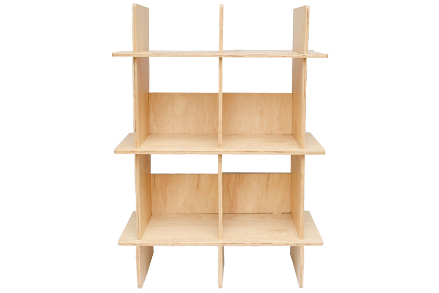 Parkville Home Flatpack Furniture for sale in Colombo, Sri Lanka Wooden Shelf - The Grid Shelf