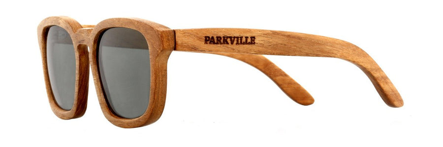 Prescription Eyewear from Parkville - Wooden sunglasses with polarised lenses