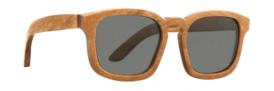 Parkville Eyewear wooden shades with polarised lenses